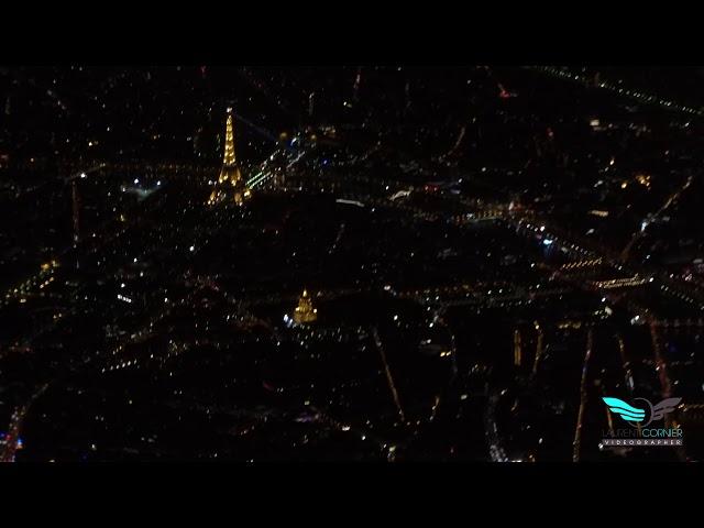 Survol de Paris ... Ville Lumière