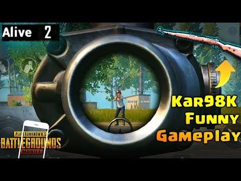 PUBG Mobile Funny Gameplay with Kar98K & MK14 | Chicken Dinner ?