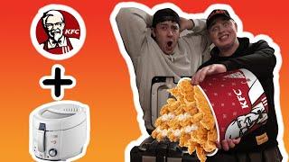 Ich frittiere Essen von KFC mit CRISPYROB (Achtung LECKER!! 🤤)
