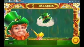 Rainbow Jackpots Slot BONUS GAME