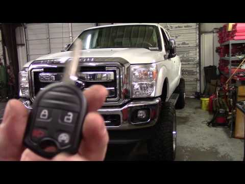 2015 Ford Super Duty remote start install