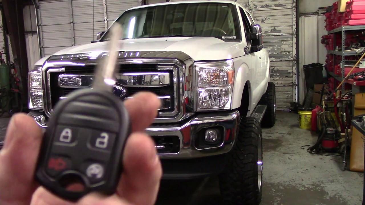 2015 ford super duty remote start install [ 1280 x 720 Pixel ]