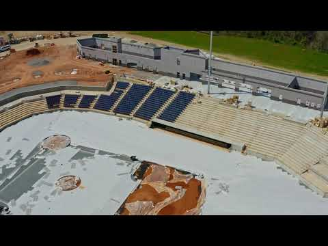 FredNats Ballpark Construction Aerial Update #13 - 5 April 2020