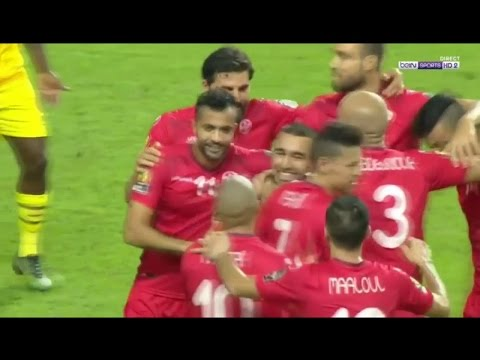 CAN 2017 Tunisie vs Zimbabwe 4-2 - Les Buts 23-01-2017 [Raouf Khlif]