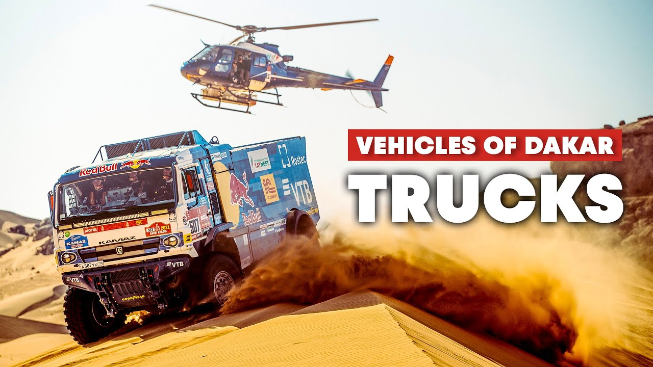 Dakar Trucks Are The Behemoths of the Desert | Vehicles of Dakar