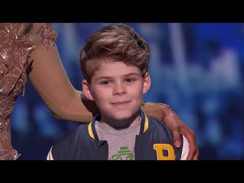 America's Got Talent 2017 Merrick Hanna Performance & Comments Semi-Finals S12E21