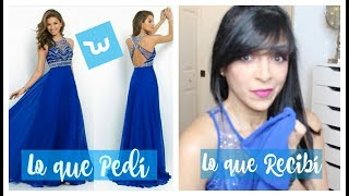 Haul Ropa China: Vestidos Wish