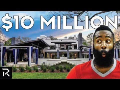 Inside James Harden's $10 Million Dollar Mansion