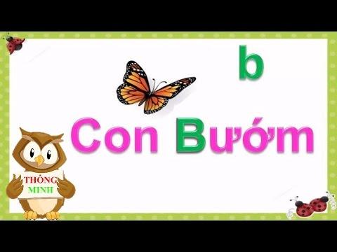 Bảng chữ cái tiếng việt cho bé | dạy em học đọc chữ cái abc | dạy trẻ thông minh sớm 7