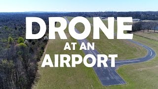 KEN HERON - DJI Phantom 4 PRO - PolarPro Giveaway and Droning at an AIRPORT
