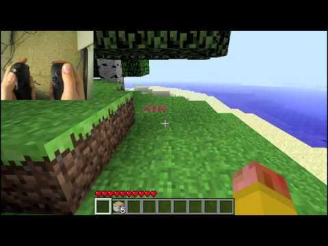 Controlling Minecraft using the Razer Hydra