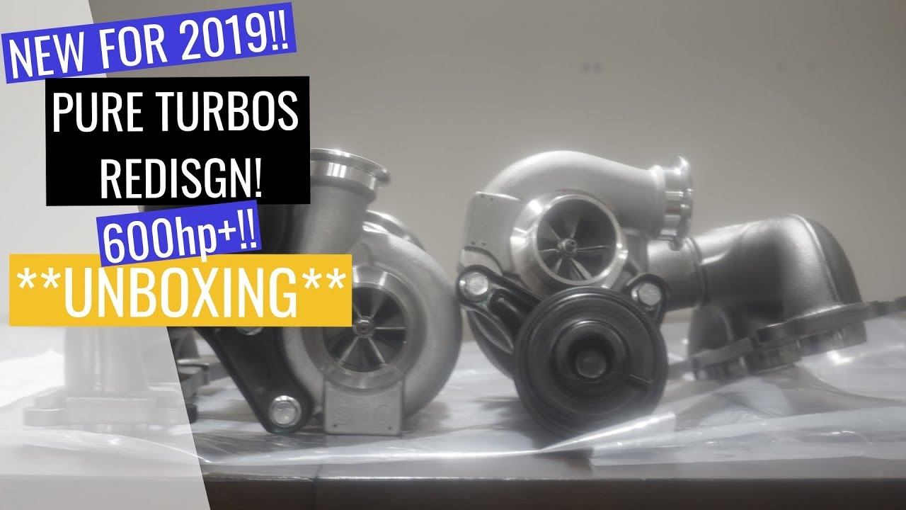 The New 2019 Pure Turbos Unboxing 600hp Pure600