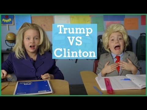Donald Trump vs Hillary Clinton | Intro To… | The Holderness Family | Maker Studios Spark
