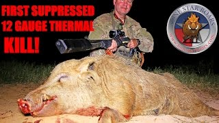 BOAR HUNTING USING THERMAL & SUPPRESSED 12 GAUGE (graphic)