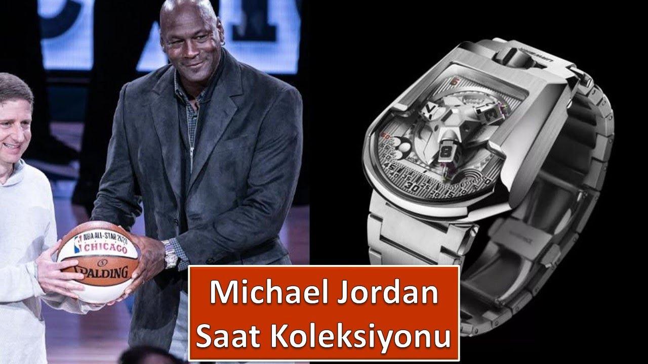 Michael Jordan Saat Koleksiyonu