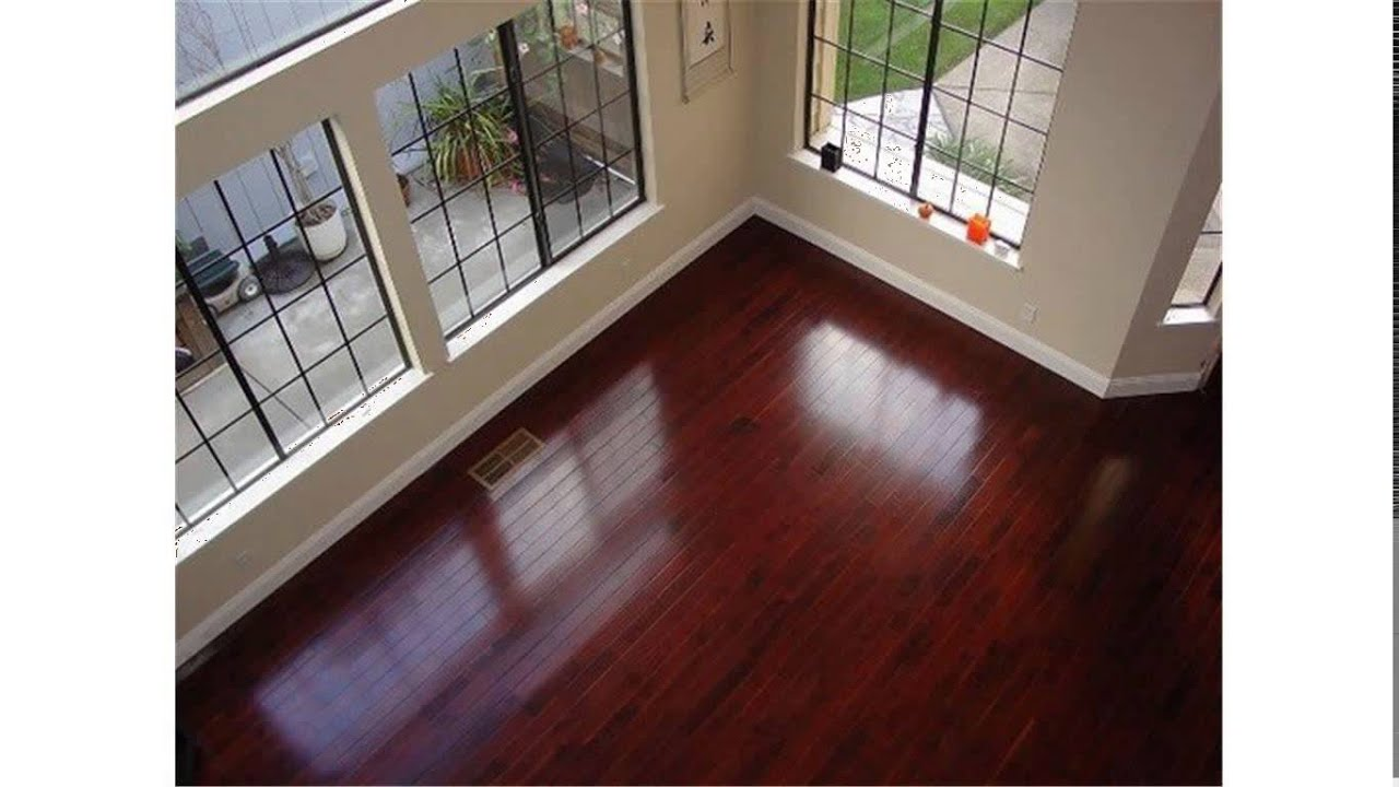 Brazilian Cherry Hardwood Floors   YouTube