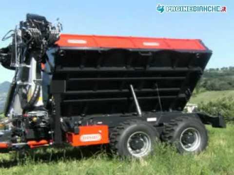 Bernabei silvio rimorchi agricoli montese modena youtube for Capriotti rimorchi agricoli
