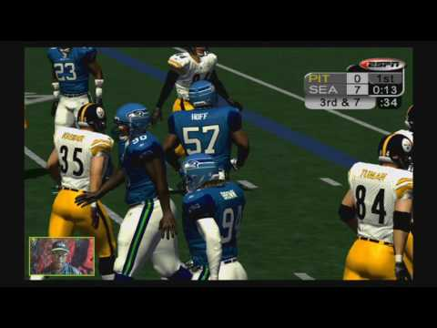 NFL 2K5 - Replay Of Super Bowl XL - The Steelers Vs The Seahawks - February 5th, 2006