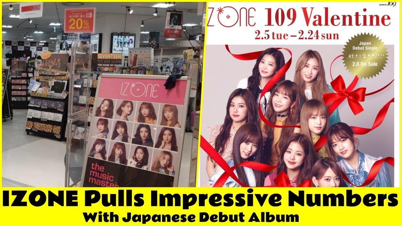 IZONE Pulls Impressive Numbers With Japanese Debut Album