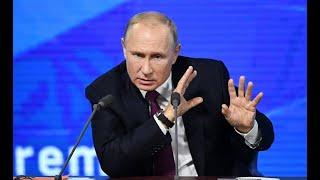 Смотреть видео Washington Examiner (США): в Санкт-Петербурге Путин дал мастер-класс по дезинформации. онлайн