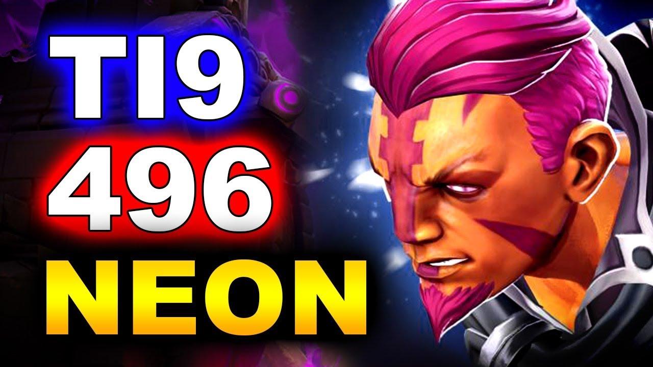 Kết quả hình ảnh cho 496 dota vs Neon