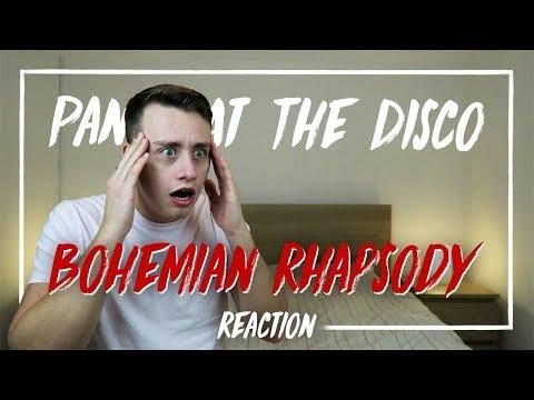 PANIC! AT THE DISCO | Bohemian Rhapsody (Death Of A Bachelor Tour) - REACTION