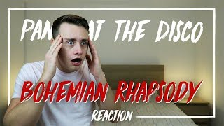 PANIC! AT THE DISCO | Bohemian Rhapsody (Death Of A Bachelor Tour) - REACTION