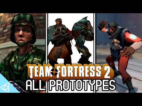 Team Fortress 2 - All Prototypes [Brotherhood Of Arms, Invasion And Beta]