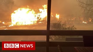 Australia fires: Residents of Cobargo, deal with the aftermath - BBC News