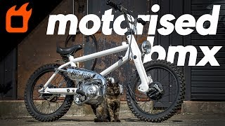 Honda Cub-Engined Motorised BMX Bikes