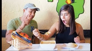 Mexican tries Honduran food for the FIRST time!