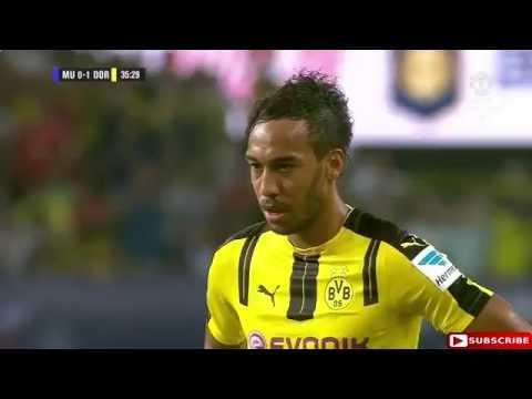 Манчестер Юнайтед – Боруссия Д 1:4 Обзор Матча 22.07.2016