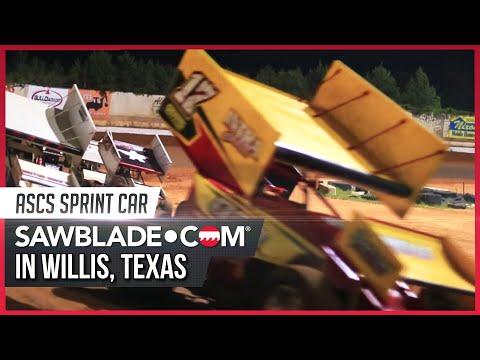 Sawblade.com Sprint Car, Willis Texas