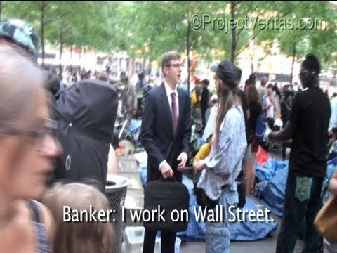 Occupy Wall Street Solicits Wall Street Banker