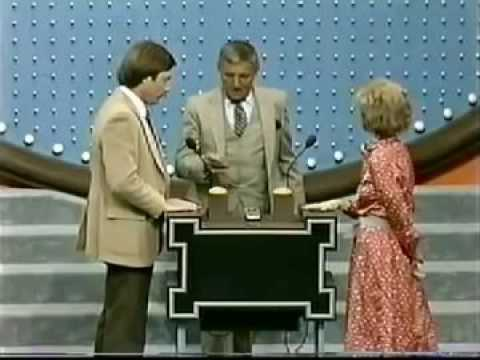 Richard Dawson can not stop laughing on Family Feud Mutual Friends