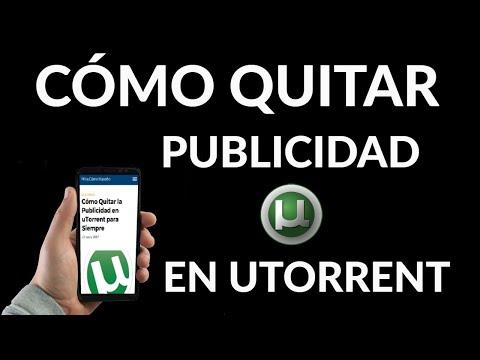 Cómo Quitar Publicidad en uTorrent