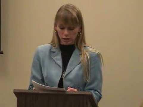 Sue's Forum Speech