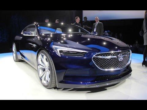 Buick Avista Concept - 2016 Detroit Auto Show - YouTube