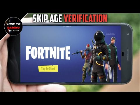   SKIP AGE VERIFICATION IN FORTNITE MOBILE  APK+OBB  HOW TO DOWNLOAD FORTNITE MOBILE ON ANDROID  