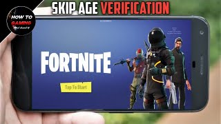 || SKIP AGE VERIFICATION IN FORTNITE MOBILE|| APK+OBB|| HOW TO DOWNLOAD FORTNITE MOBILE ON ANDROID||
