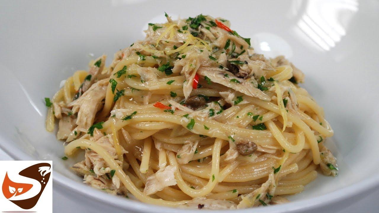 spaghetti tonno e limone ricetta gustosissima facile e