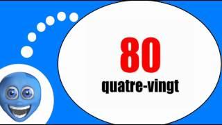 Французского видео урок = Цифры от 70 до 80