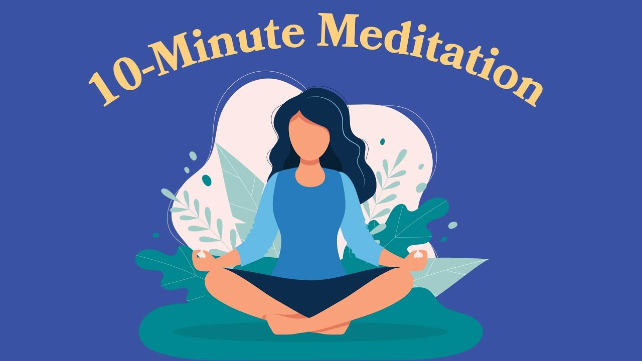 A Gently 10-Minute Meditation Video For Anyone Struggling To Fall Asleep