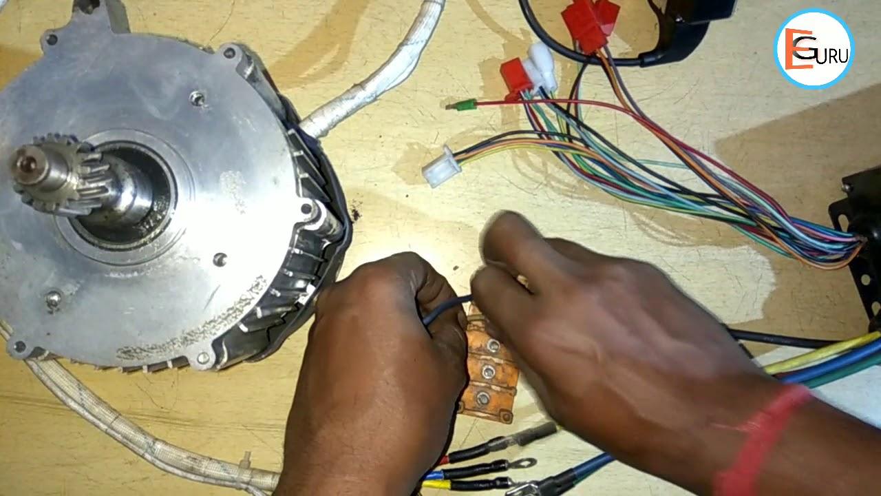 e rickshaw bldc motor controller wiring kaise kare electric guru [ 1280 x 720 Pixel ]