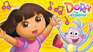 Dora the Explorer's Fun Songs for Dancing & Singing! 🎶 | #MusicMonday