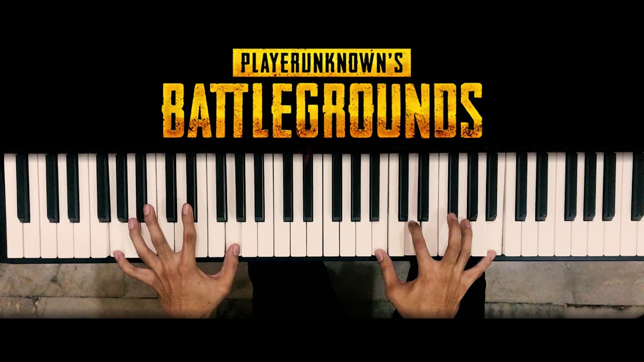 PUBG Main Theme Piano Version Cover YouTube