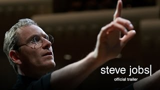 Steve Jobs - Official Trailer (HD)(Steve Jobs - Official Trailer (HD) In Theaters October 9 http://www.stevejobsthefilm.com/ Set backstage at three iconic product launches and ending in 1998 with ..., 2015-07-01T14:58:08.000Z)