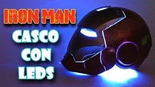 CASCO DE IRON MAN CON LUCES LED | IMPRESORA 3D | Marvel | ArteMaster