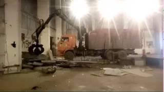 видео Втормет-прием металлолома. - Металлолом черных металлов. Скупаем металлолом в городе Московский. Перевозка металлолома