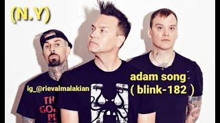 ADAM SONG - BLINK-182 ( BASS COVER )